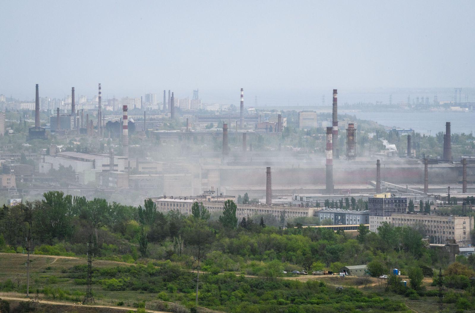 Russland/ Wolgograd/ Stahlindustrie