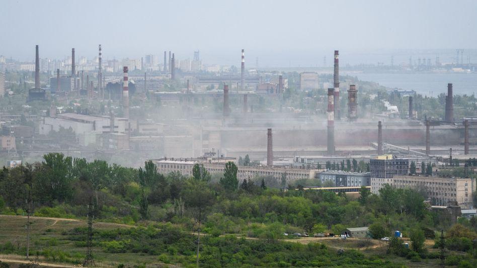 """Stahlhersteller """"Roter Oktober"""" in Wolgograd"""
