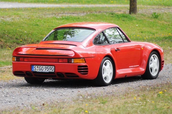 Der Porsche 959 - ein Auto aus Alu, Kevlar und glasfaserverstärktem Epoxidharz