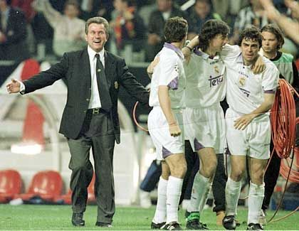 Der bislang größte Erfolg als Trainer glückte Heynckes mit Real Madrid. Am 20. Mai 1998 gewannen die Spanier die Champions League. Im Finale wurde Juventus Turin mit 1:0 besiegt.