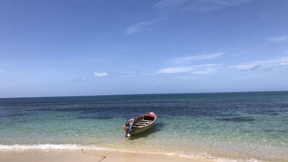 Strand auf Jamaika