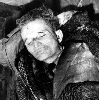 "Hingerichteter Diktator Nikola Ceausescu (1989): Kurzer Prozess mit dem ""Conducatore"""