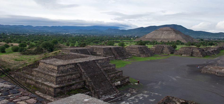 Die Ruinenstadt Teotihuacan wurde 1987 zum Unesco-Weltkulturerbe erklärt (Archivbild)