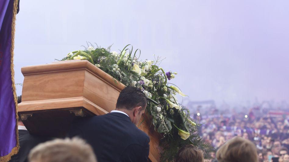 Trauerfeier von Davide Astori