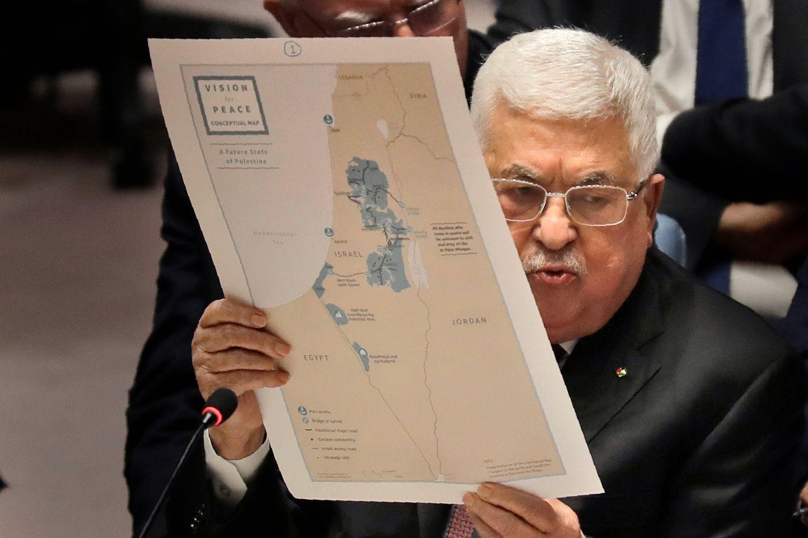 Nahost-Plan von Trump - Abbas