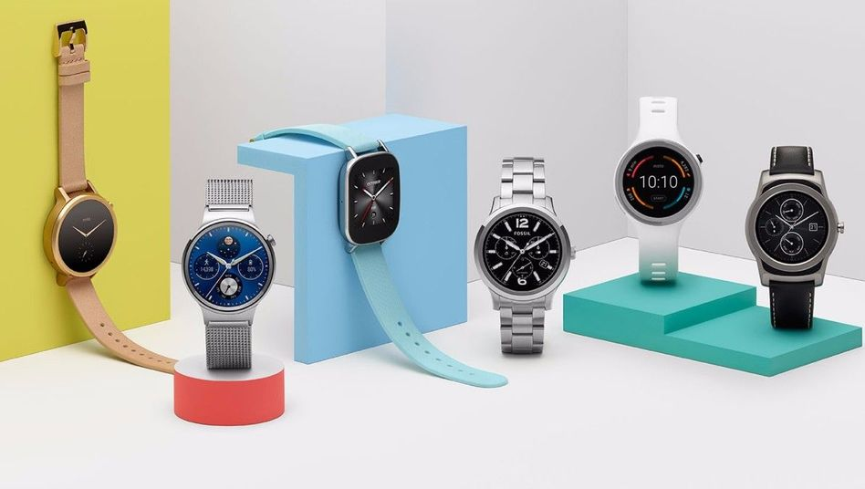 Smartwatches mit Android Wear