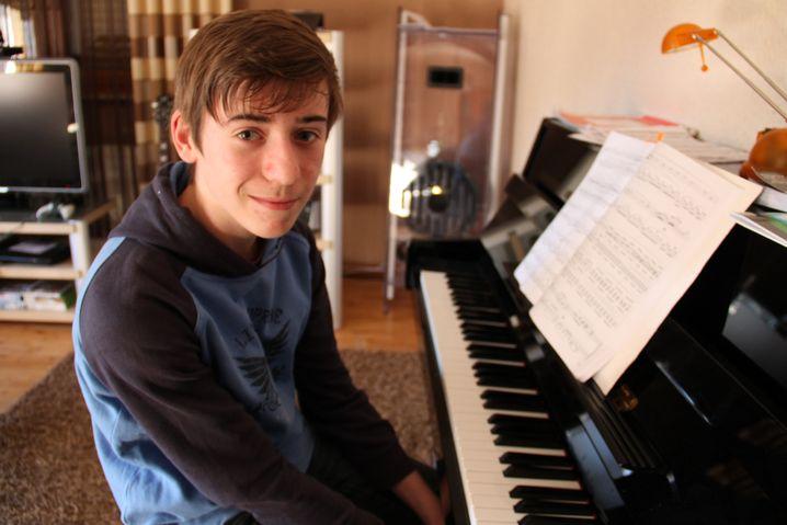 Realschüler Lukas spielte lieber Klavier und Fußball als zu lernen