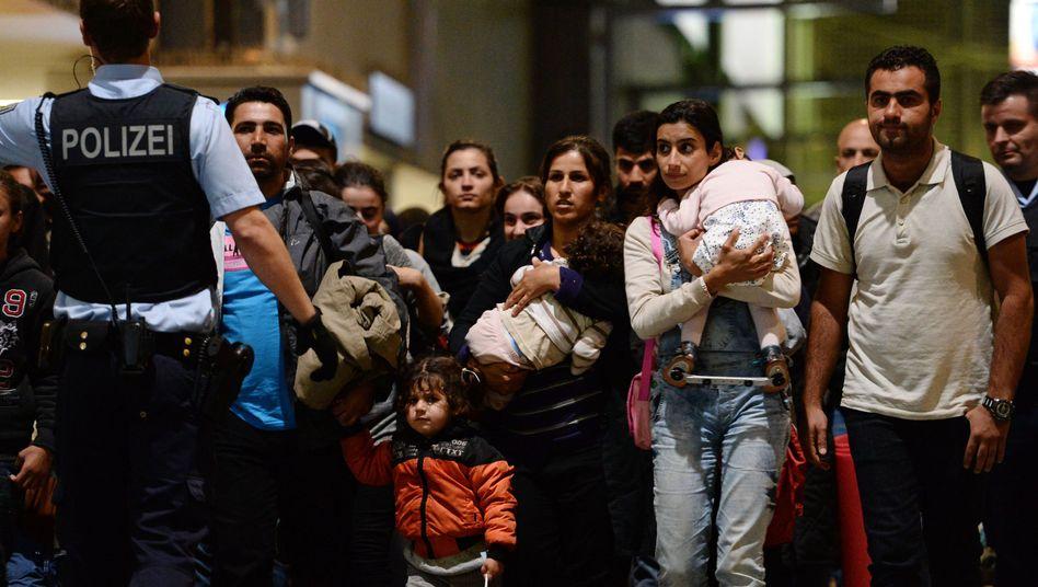 Flüchtlingsfamilien erreichen München: Kita-Plätze für 68.000 Kinder benötigt