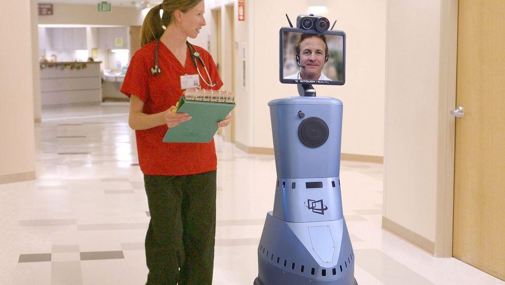 Ferngesteuerte Chefs und Ärzte: Per Roboter nach dem Rechten schauen