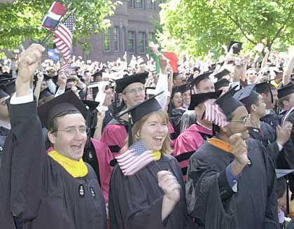 Eher strebsam als enthemmt: Harvard-Studenten