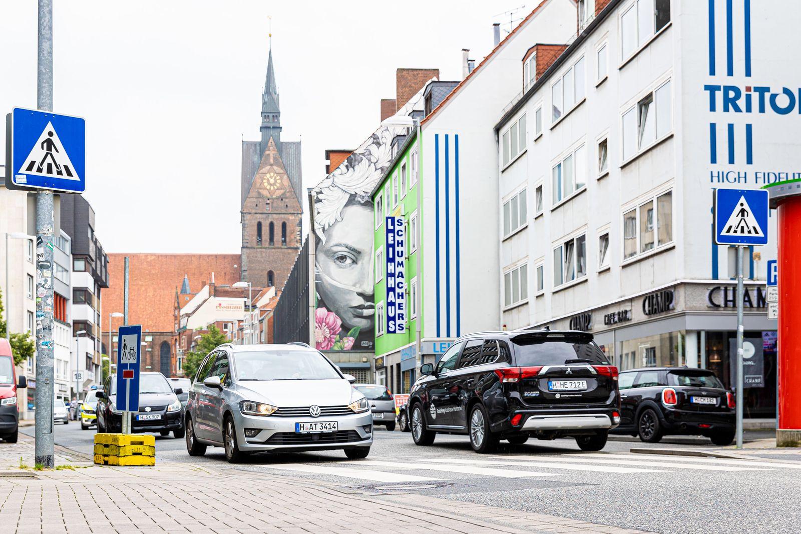 Temporäre Fußgängerzonen in Hannover