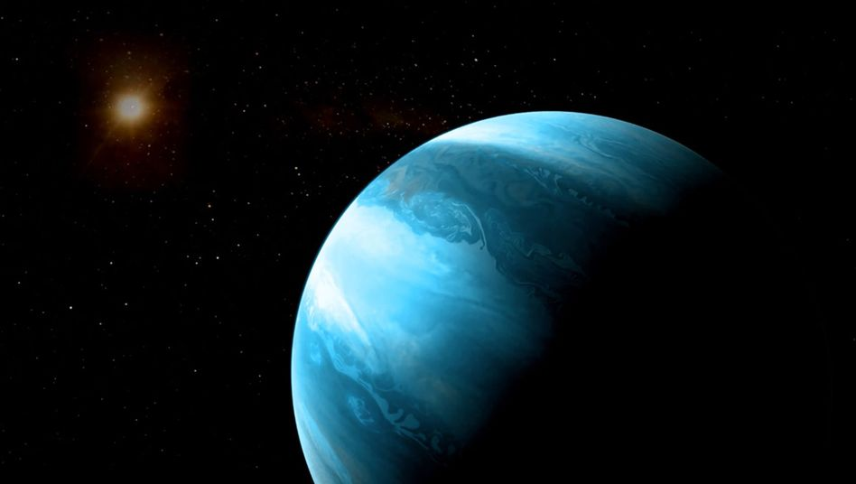 Künstlerische Darstellung des Gasriesen: Theorie zur Planetenentstehung auf dem Prüfstand
