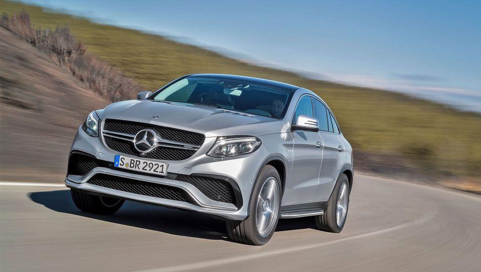 Mercedes Benz AMG GLE: Die Affäre um Mercedes-Testfahrer kostet Daimler knapp 20 Millionen Euro