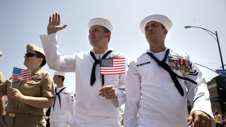 Schwule Soldaten der US Navy: Rechte am Arbeitsplatz gestärkt