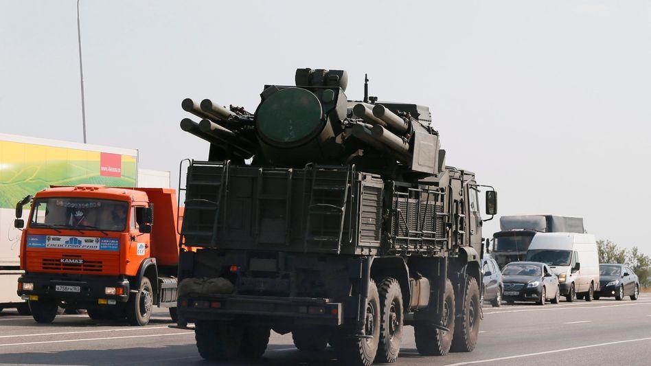"""Russisches Luftabwehrsystem: """"Russland schickt zusätzliche Einheiten"""""""