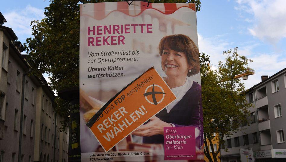 Nach Attentat: Kandidatin Reker siegt bei Oberbürgermeister-Wahl in Köln