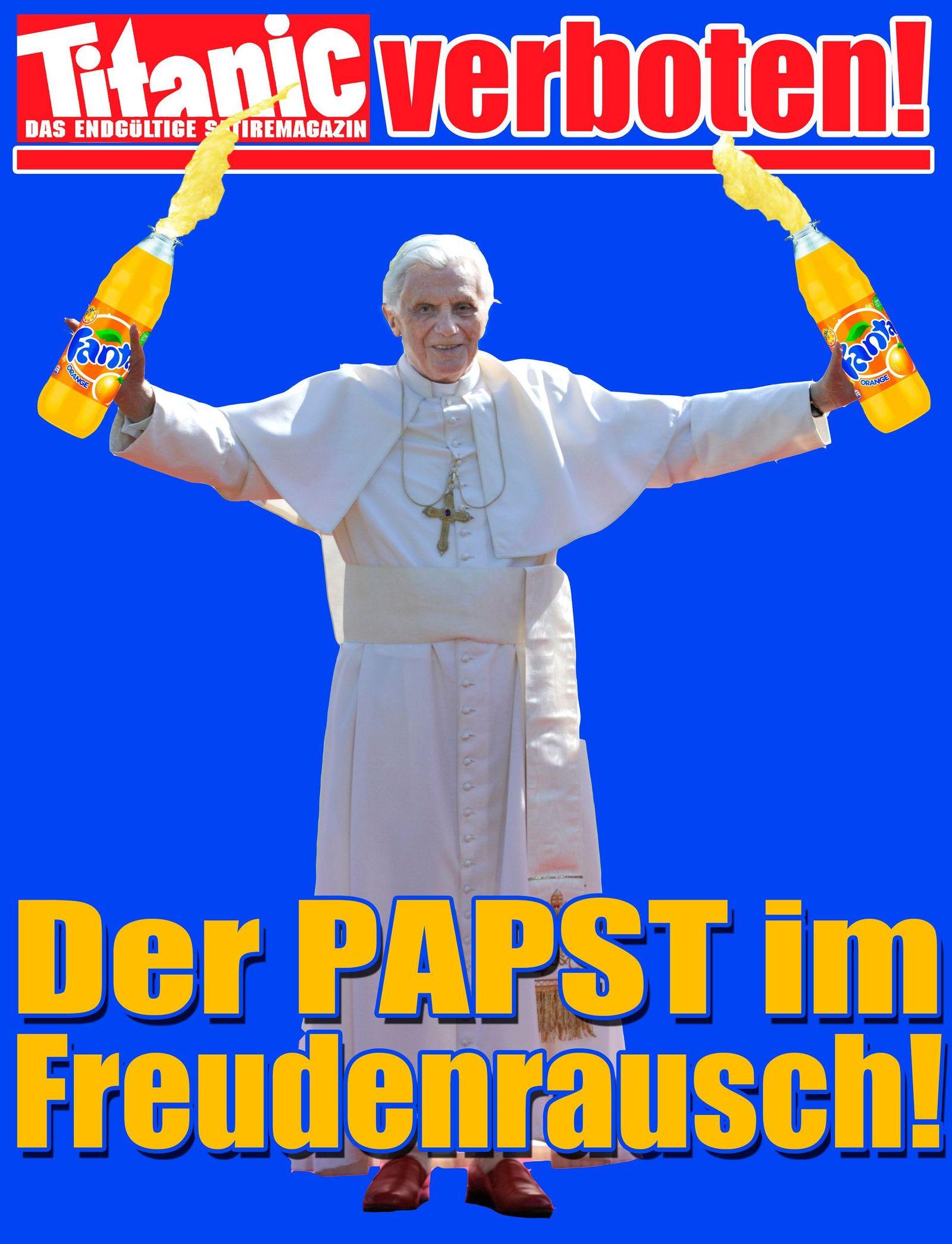 Titanic-Titel Papst