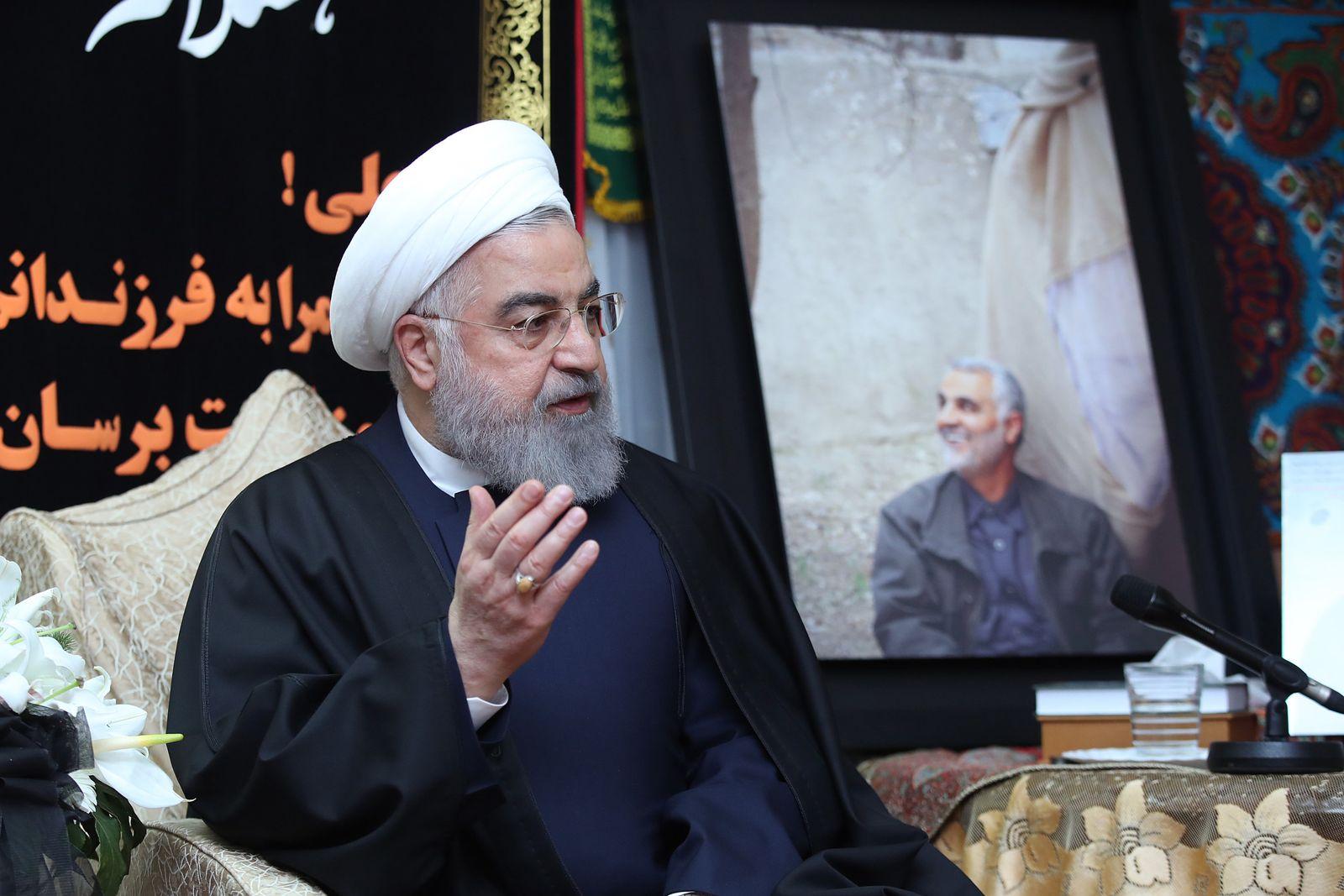 Konflikt Iran-USA - Hassan Ruhani