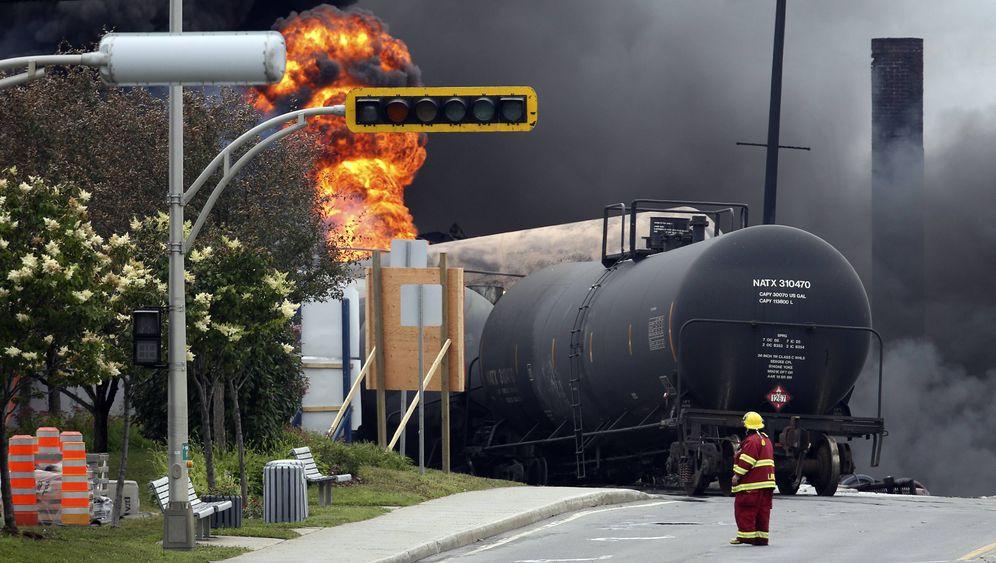 Ölzüge in Amerika: Todesgefahr auf Schienen
