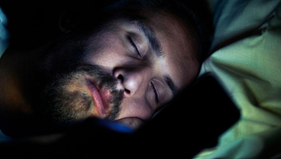 Schlafender: Haben wir alle die gleichen Albträume?