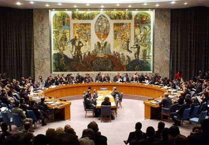 Sitzung des Uno-Sicherheitsrats (am 27. Januar in New York)