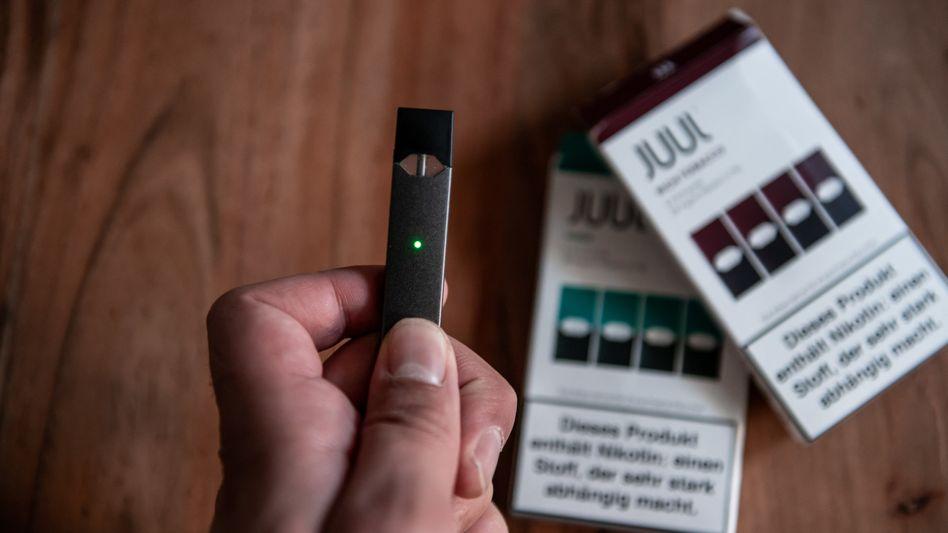 E-Zigarette von Juul: Der Hersteller darf vorläufig keine Kartuschen ausliefern