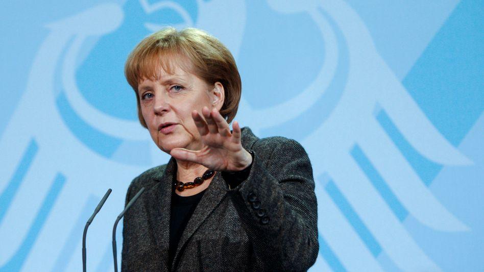 Bundeskanzlerin Angela Merkel: 2009 der Stolperstart, 2010 ein Neubeginn