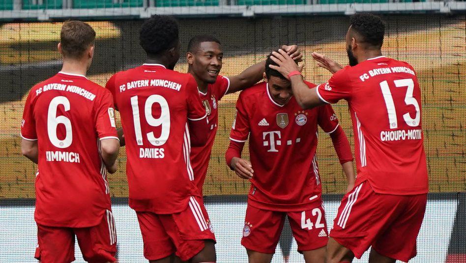 Die Bayern jubeln wieder