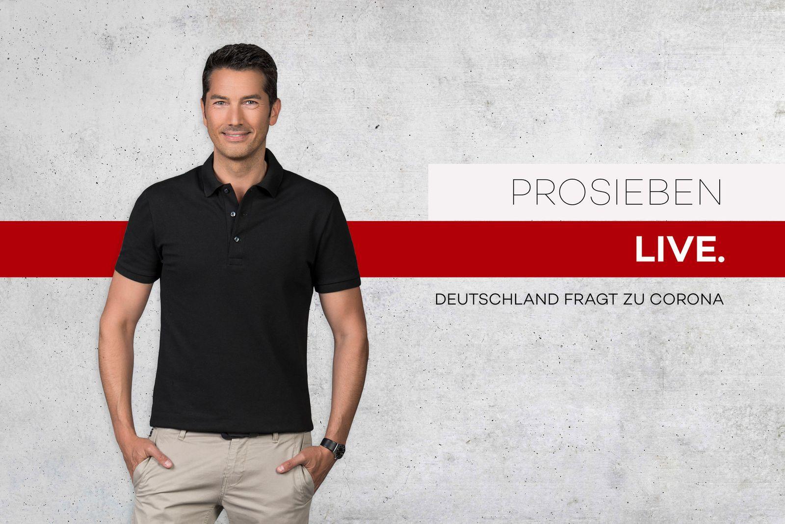 Stefan G??dde moderiert ProSieben-Live-Talk am Mittwoch