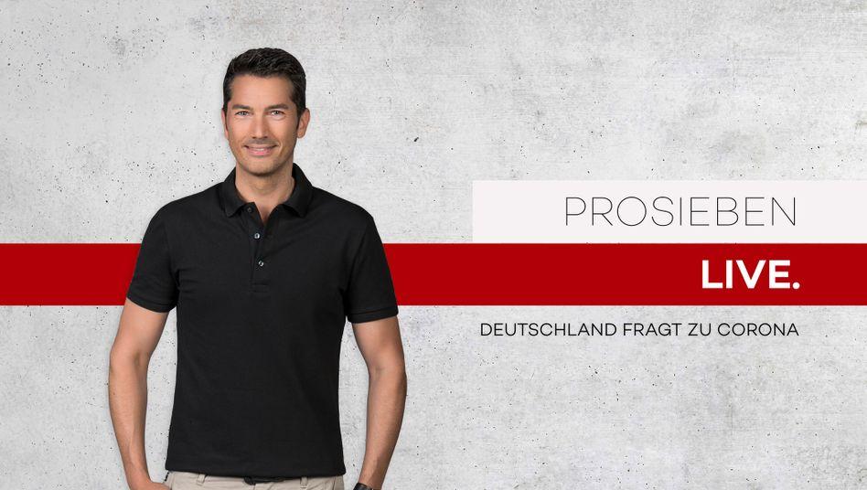 """""""Deutschland fragt zu Corona"""": Moderiert wurde der zweist??ndige Live-Talk von Stefan G??dde"""