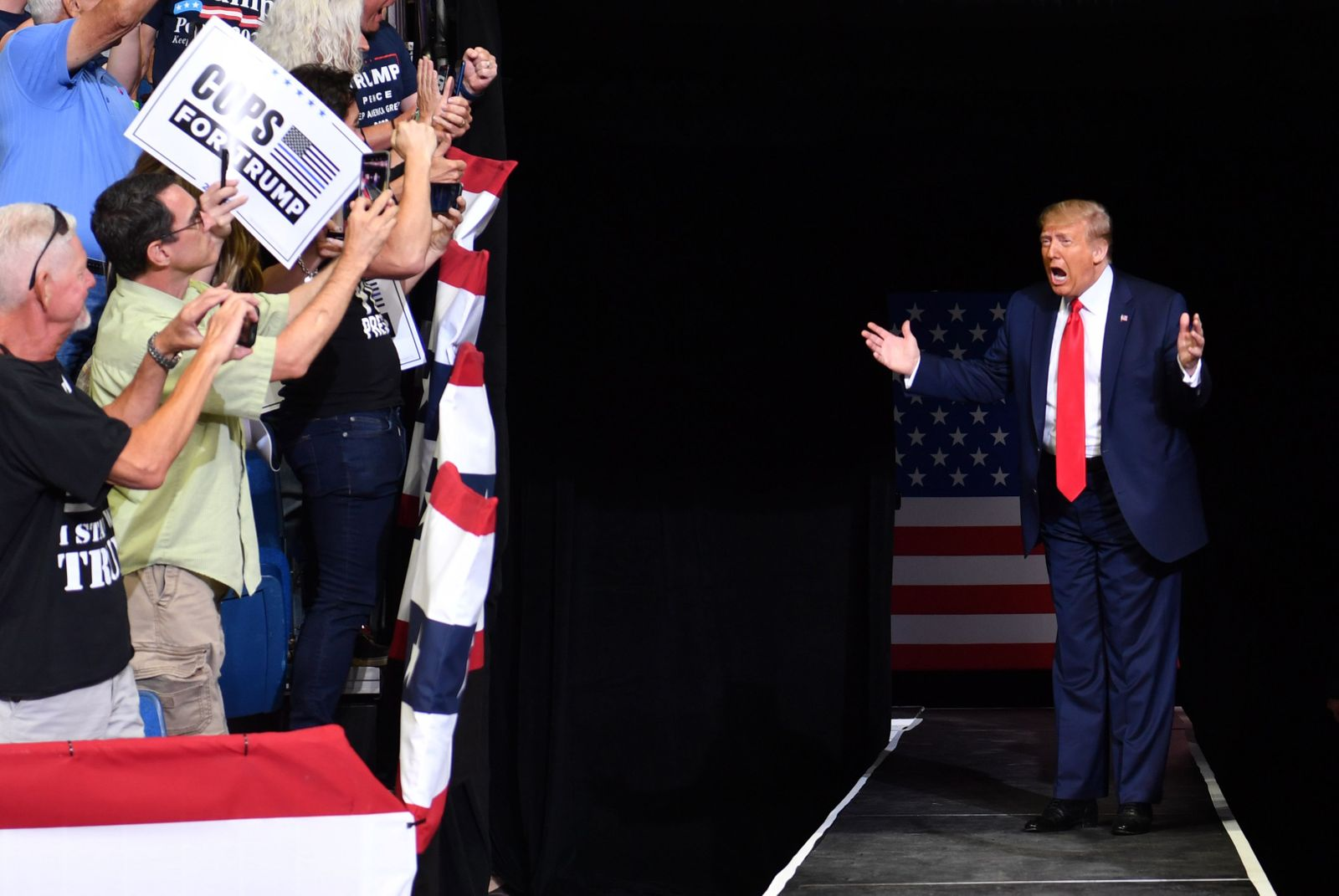 FILES-US-POLITICS-VOTE-RALLY-TRUMP