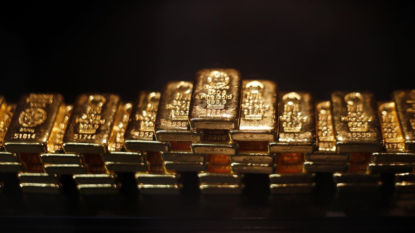 Gold / Goldbarren / Barren