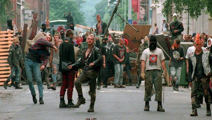Punks in Hannover: Gefährdungspotential für Recht und Ordnung