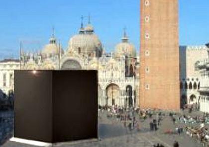 Aufreger: Die Skulptur von Schneider wurde vom Markusplatz verbannt