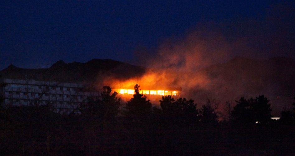 Terror im Interconti Kabul: Nato kämpft Hotel-Angreifer nieder