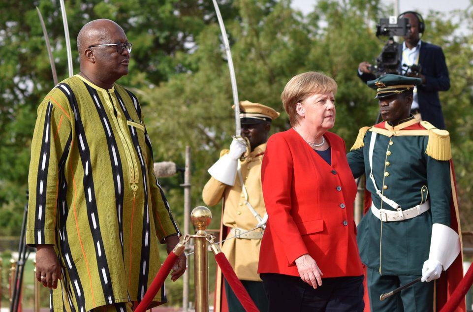 AFRICA-GERMANY/MERKEL-BURKINA