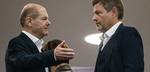 Steuern in Ampel-Verhandlungen: Olaf Scholz und Robert Habeck sehen keinen Spielraum für Entlastungen