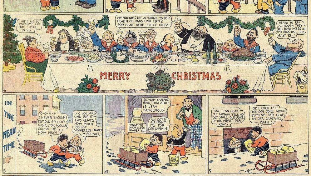 Comic-Pionier Rudolph Dirks: Mickys deutscher Großvater