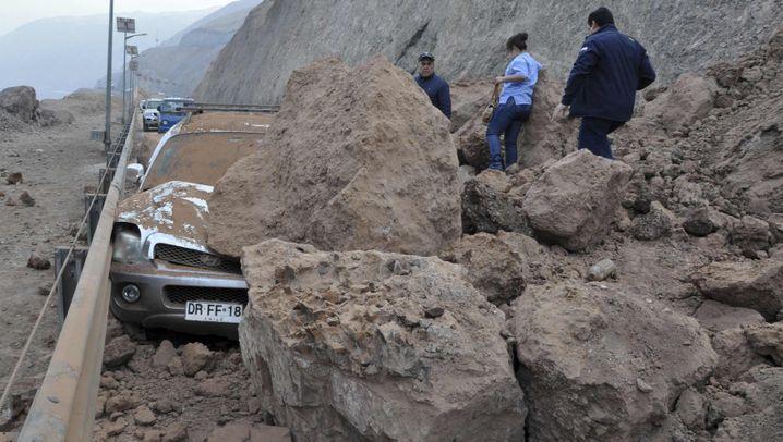 Nachbeben in Chile: Tsunami-Wellen erreichen Küste