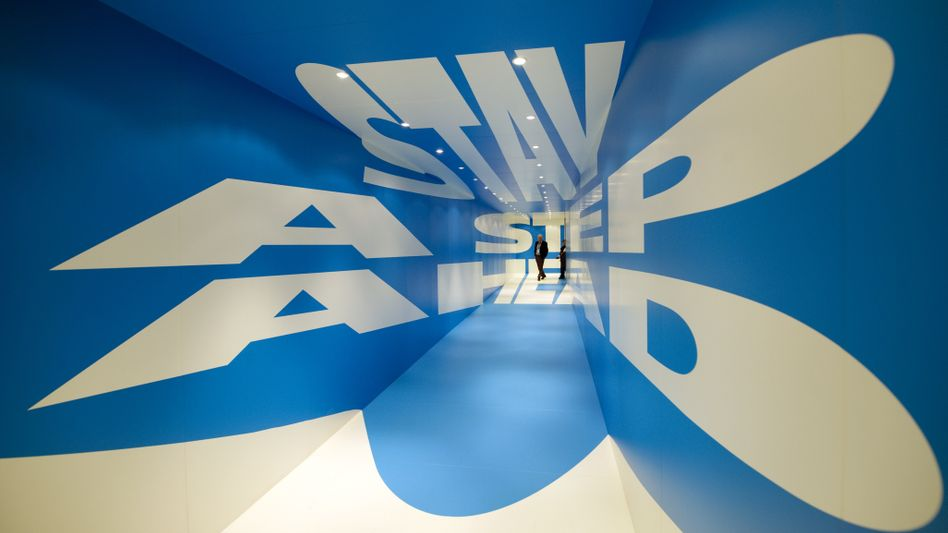 """""""Stay a step ahead,"""" reads a message in the Belvedere Hotel in Davos this week. It is a message that Allianz CFO Paul Achleitner takes to heart."""