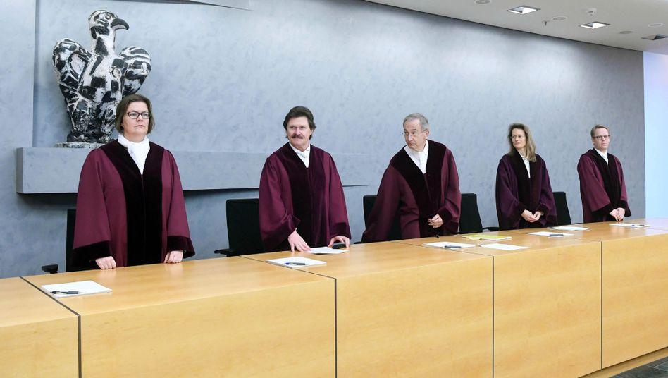 Der sechste Zivilsenat des BGH verkündet das Urteil