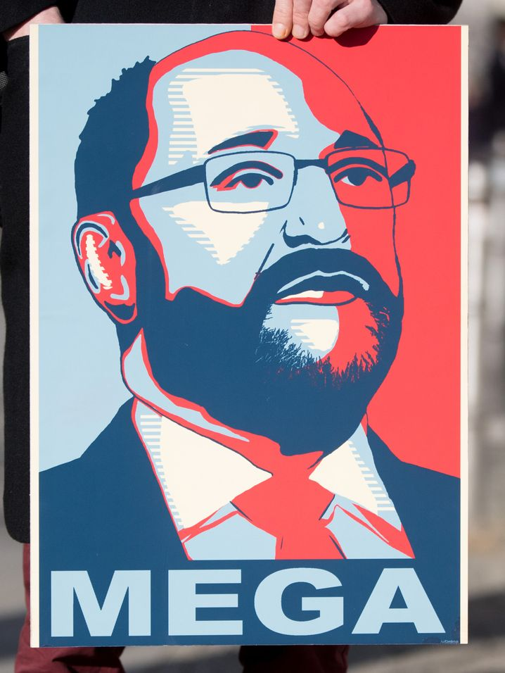 Schulz-Plakat