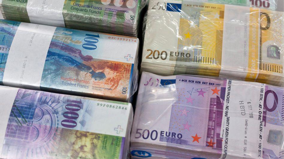 Franken und Euro: Kampf gegen den starken Franken