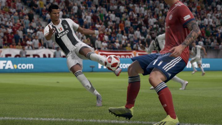 Auch wenn die Ballkontrolle deutlich schwieriger geworden ist: Mit Topspielern wie Cristiano Ronaldo klappt fast alles