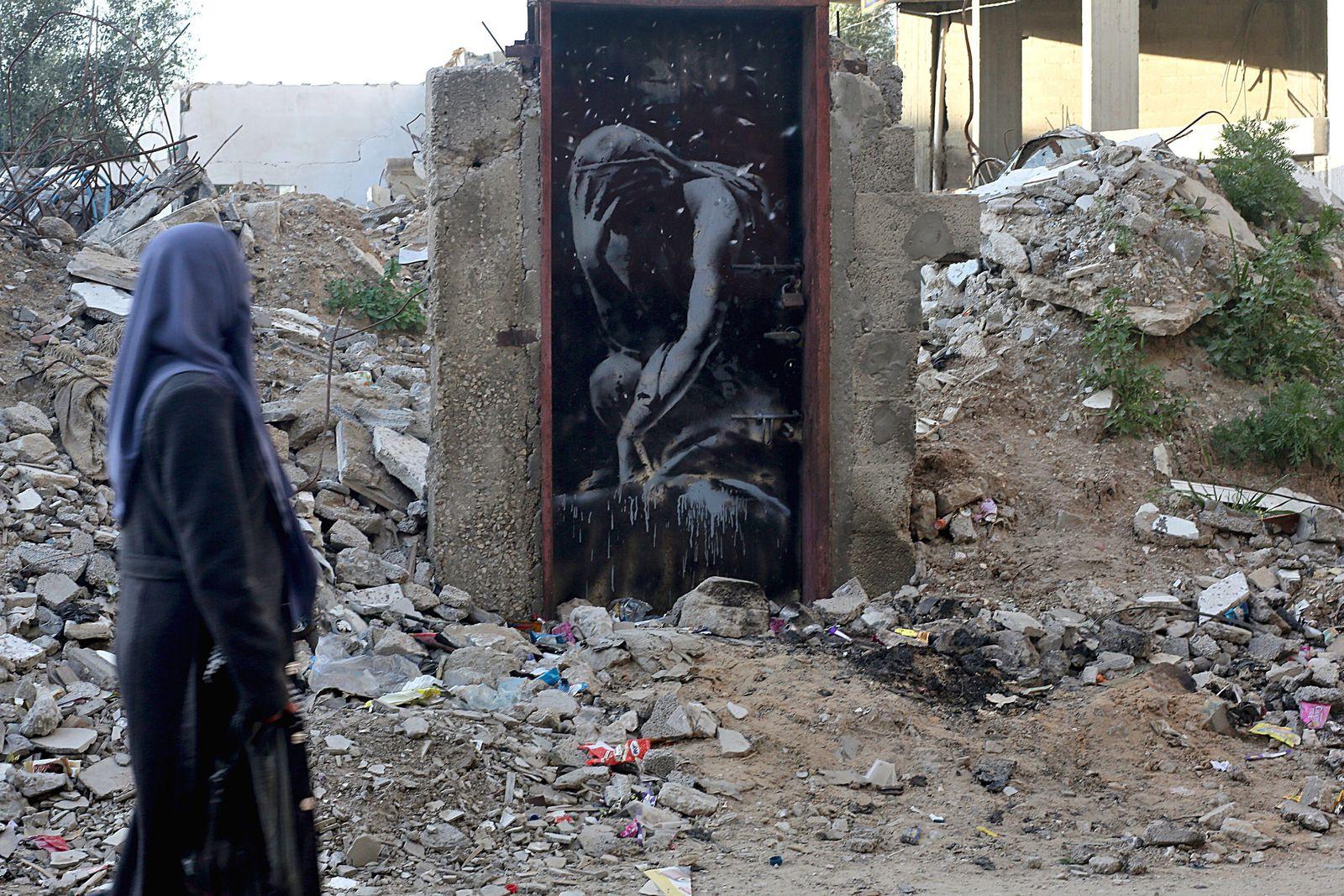 Banksy/ Gaza