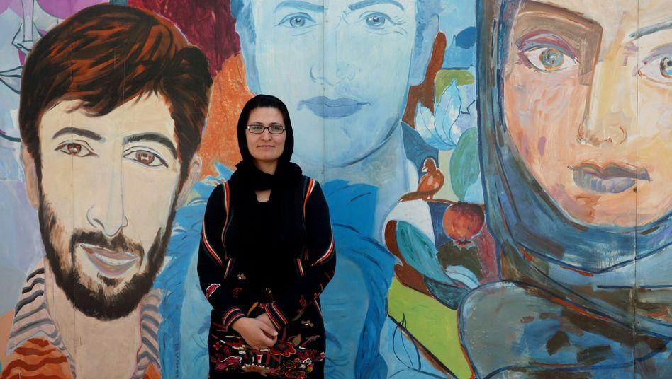 """Goethe-Institut-Mitarbeiterin Siddiqi: """"Was bringt die Zukunft für uns Frauen?"""""""