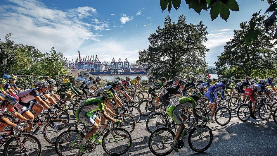 Radrennen in Hamburg