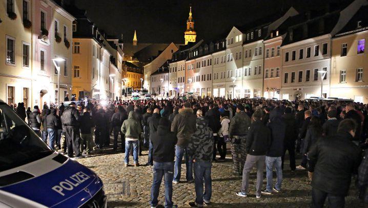 Rechter Protest gegen Flüchtlinge: Der Skandal von Schneeberg