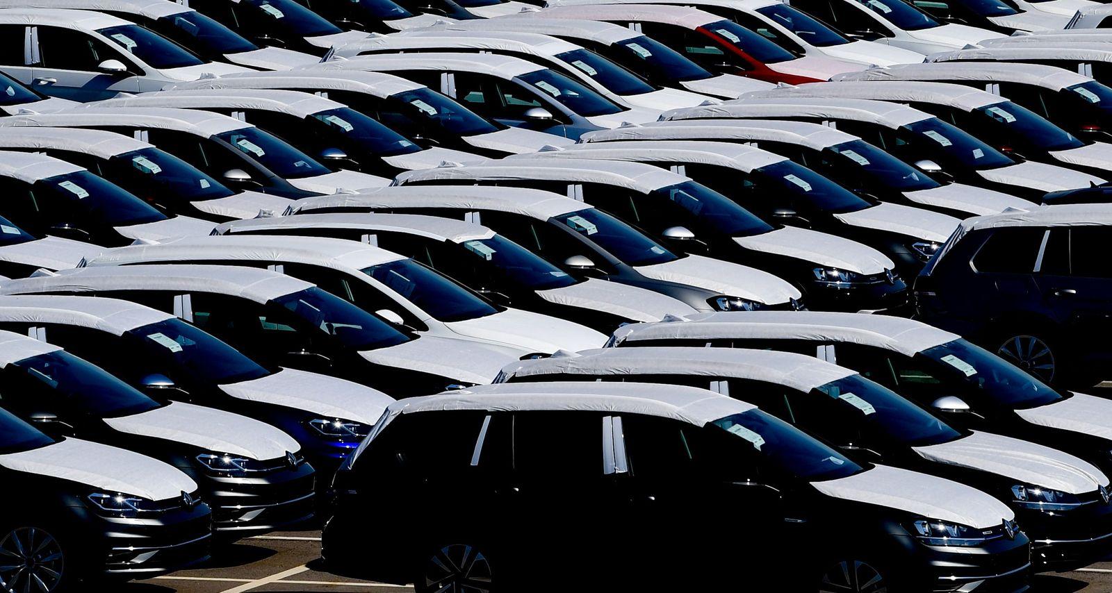 Volkswagen suspends production, Zwickau, Germany - 02 Apr 2020