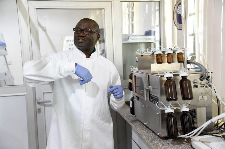 Er forscht an einer Corona-Impfung made in Africa – der nigerianische Molekularbiologe Christian Happi